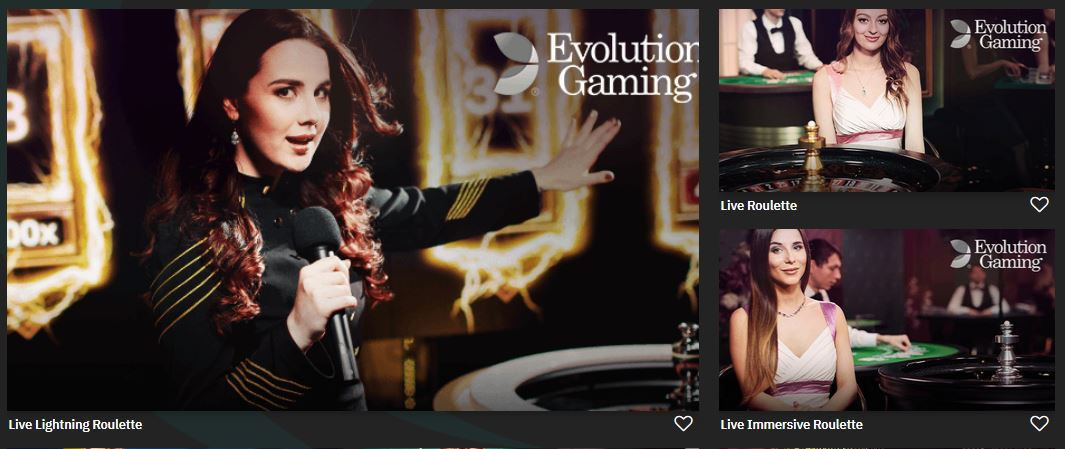 evolution gaming on fastbet casino