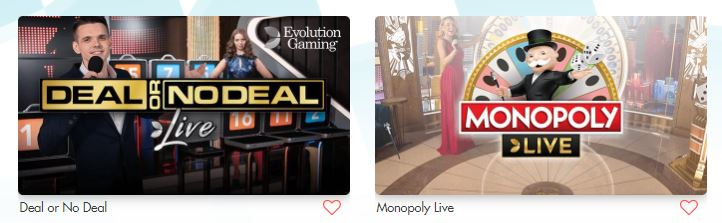 turbo vegas live casino