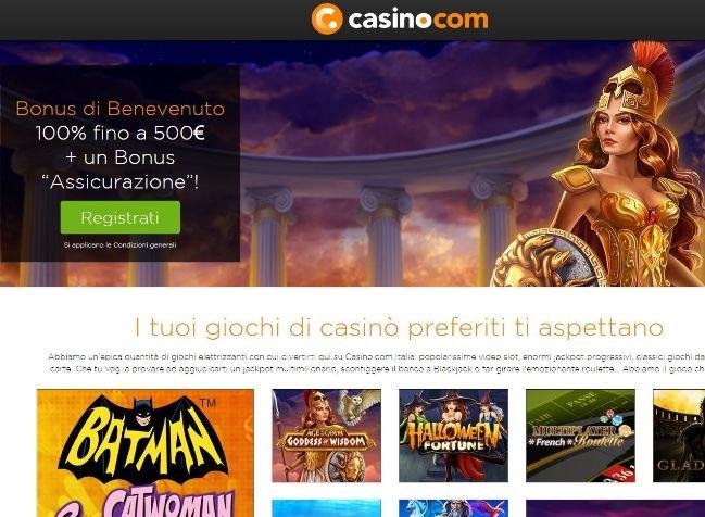 Visit Recensione Casino.com