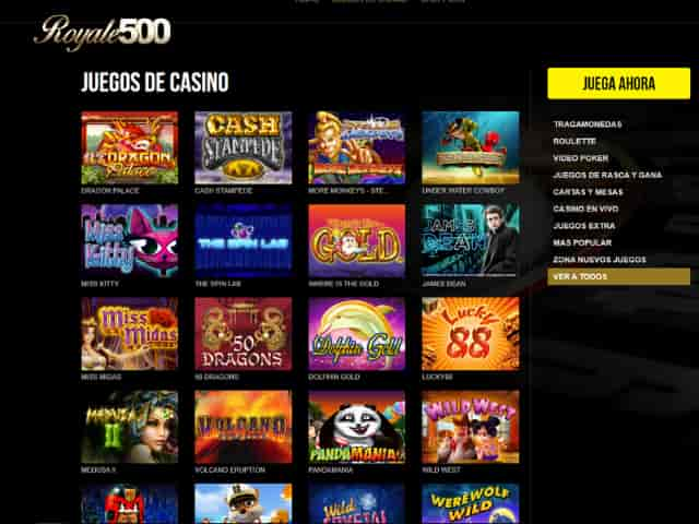 Visit Casino Royale500