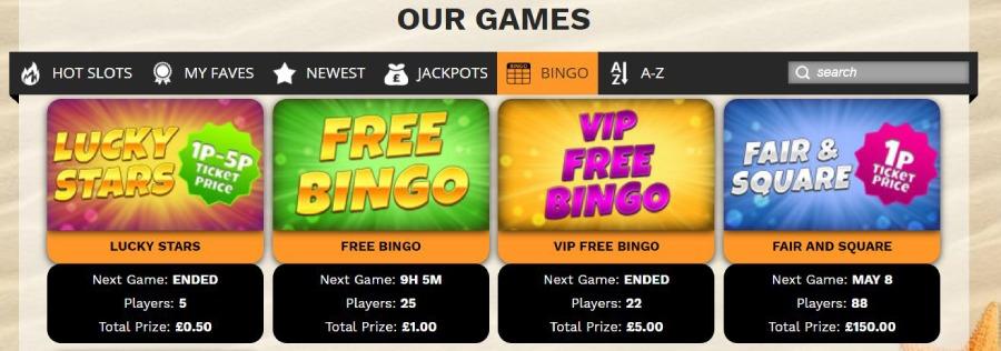 Barbados Bingo games