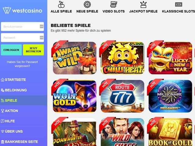 Visit West Casino