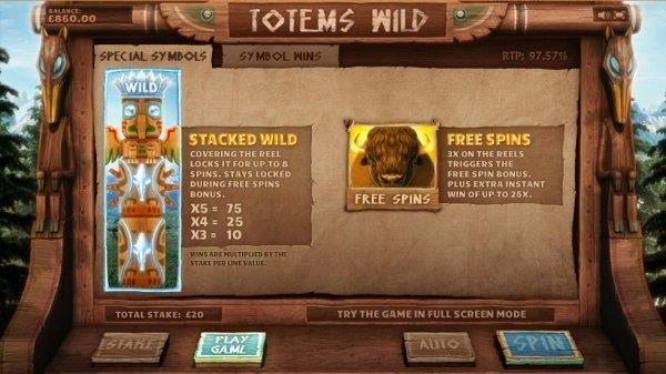 Totems Wild Slot