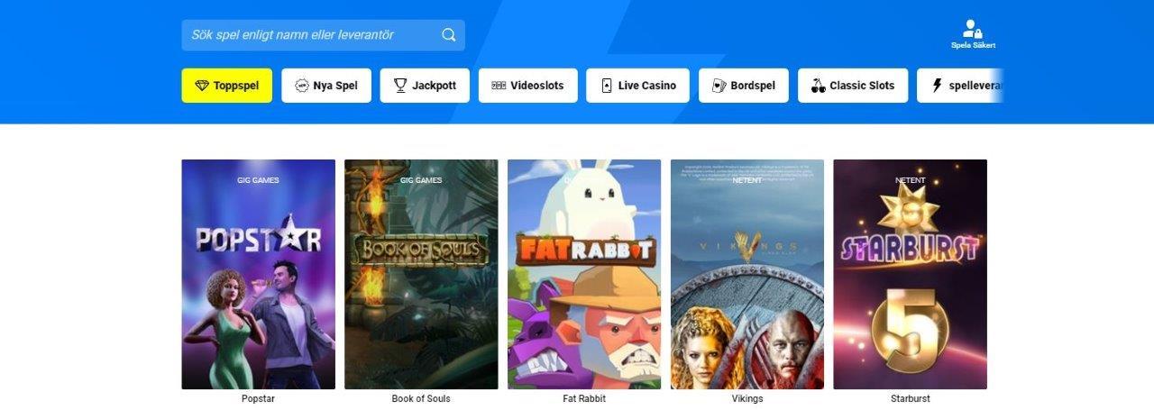 thrills casino spelsidan med spelautomater