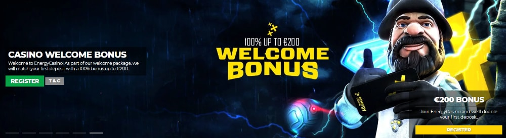 Energy Casino Welcome Bonus | CasinoTopsOnline