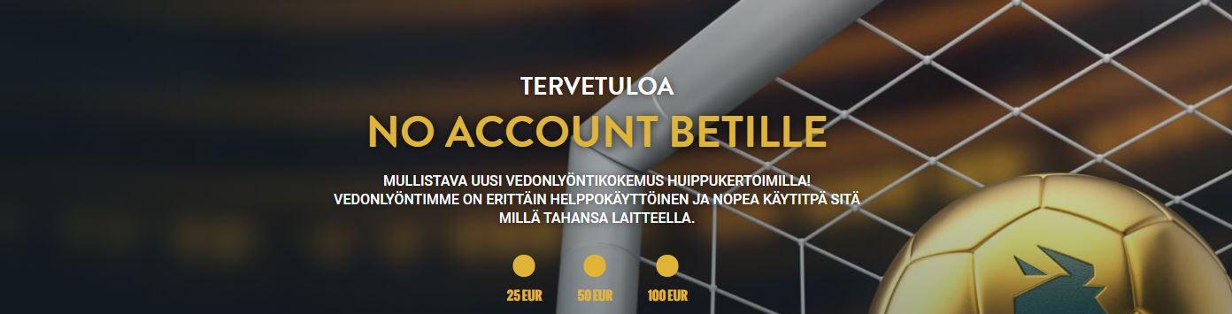 account bet kasinot