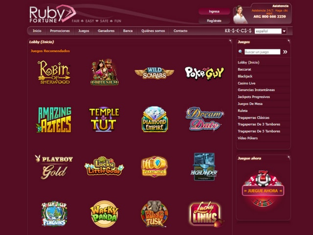 Visit Ruby Fortune