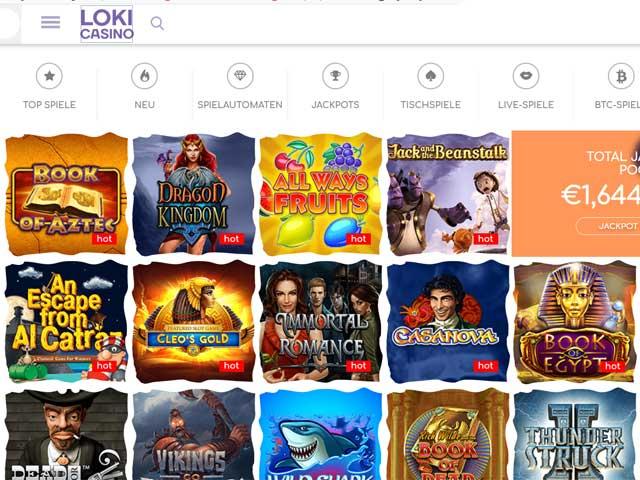 Visit Loki Casino