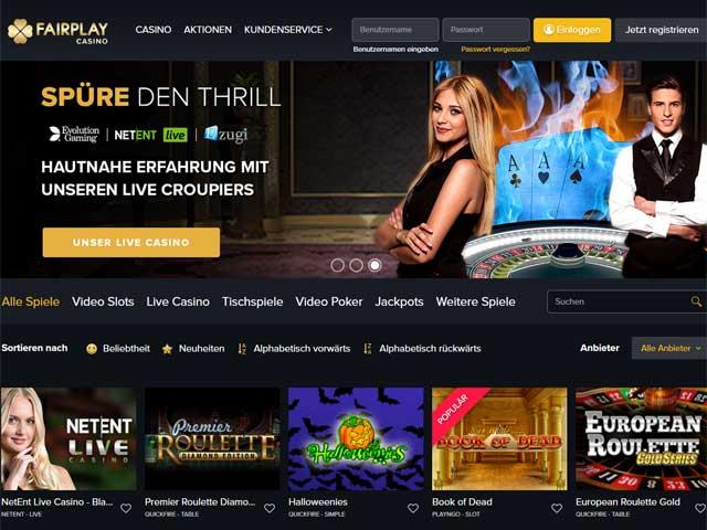 Visit Fairplay Casino