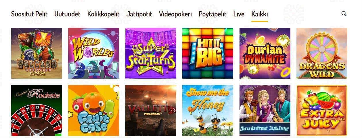 karjala casino game selection homepage suomi photo 2