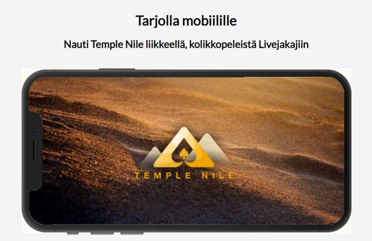 temple nile mobiili casino bonus