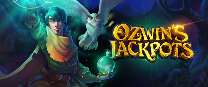Ozwins Jackpots banner