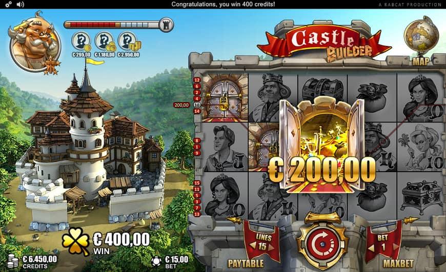 Онлайн-слот Castle Builder от RabCat