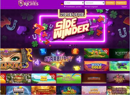 Visit Cheeky Riches Casino