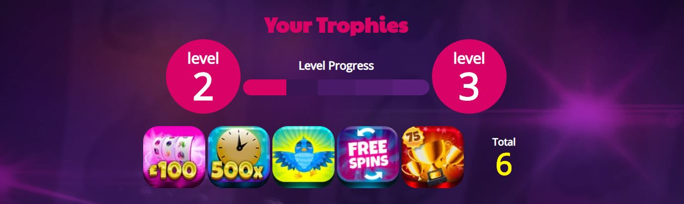 Win trophies at Moneyreels