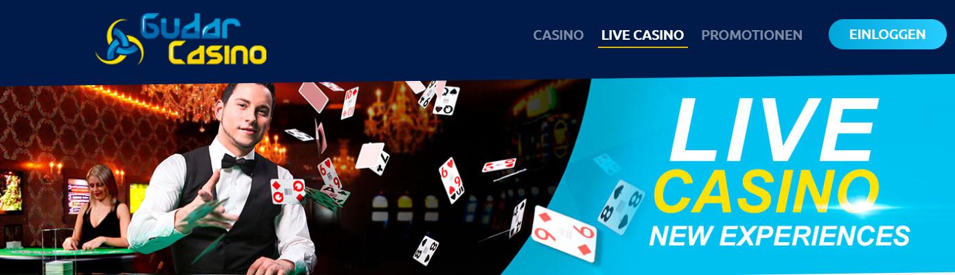 Gudar Live Casino