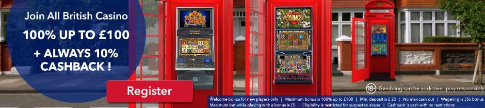 all british casino promotion