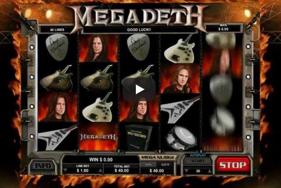Leander Games Megadeth