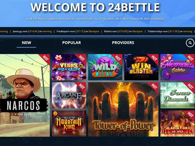 Visit 24Bettle Casino