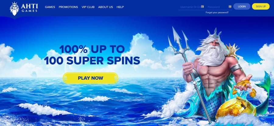 Ahti games bonus offer
