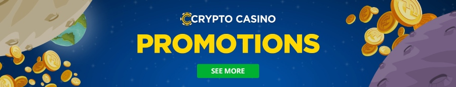CryptoCasino promotions banner