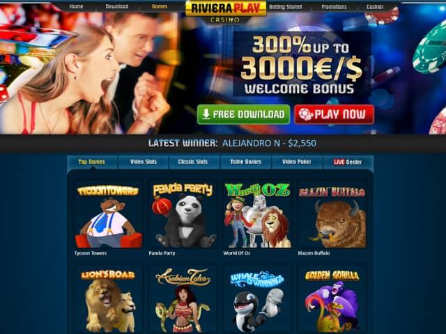 Visit Riviera Play Casino