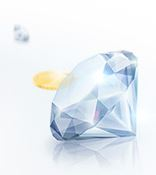 Drück glücl diamant