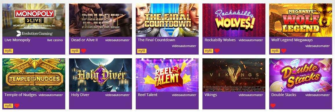 spel från yako casinos hemsida