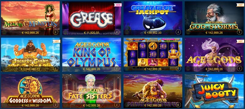Europa-Casino-Jackpot-Spiele