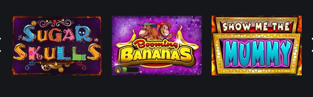 spelautomater från booming games