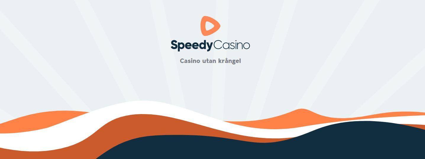 Bild på Speedy Casinos hemsida