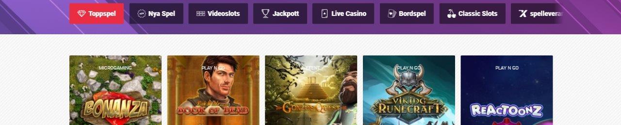 GutsXpress Casino utan konto