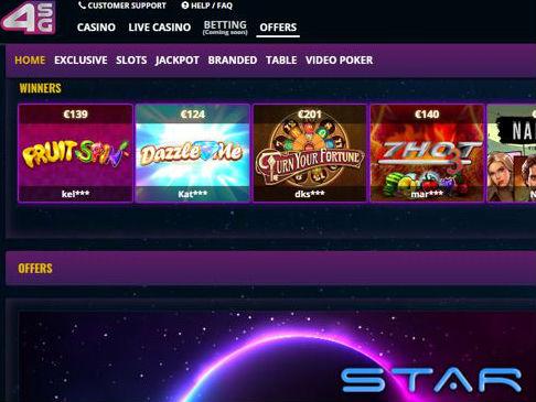 Visit 4StarGames Casino