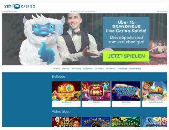 Visit Yeti Casino