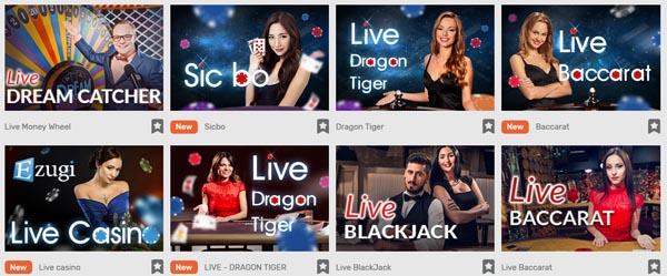 CampoBet Casino Live-Casino