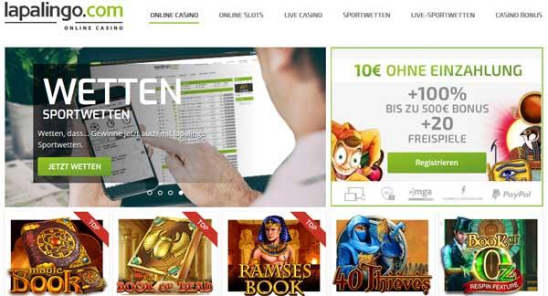 Lapalingo Casino Erfahrungen