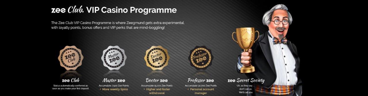 PlayZee Casino VIP Bonus