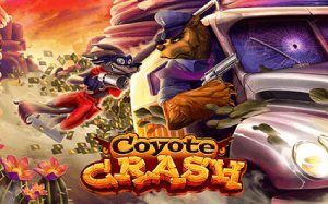 Coyote Crash slot logo
