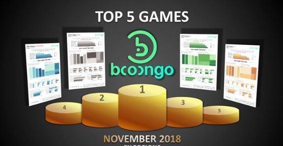 Booongo Top 5