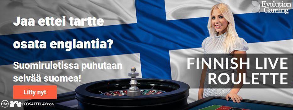 leo vegas suomalainen ruletti