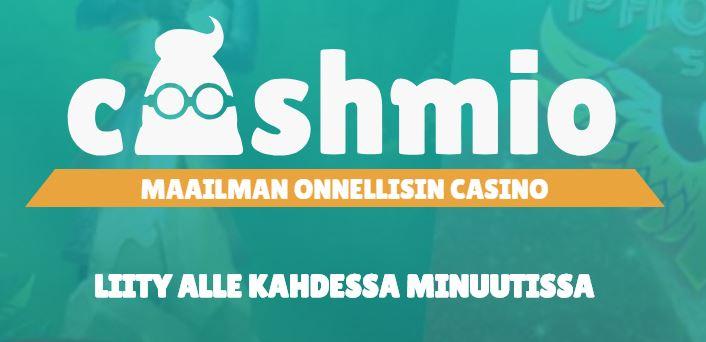 cashmio casino kokelmuksia ja bonukset