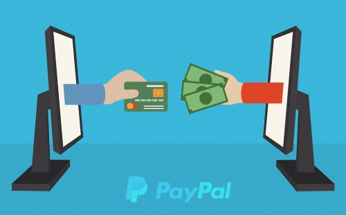 Paying with paypal online