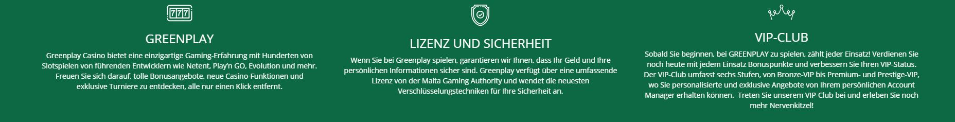 Greenplay Casino Infos