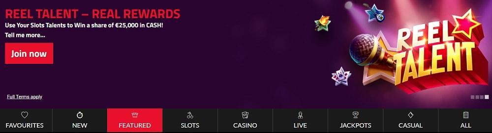 CK Casino Screenshot