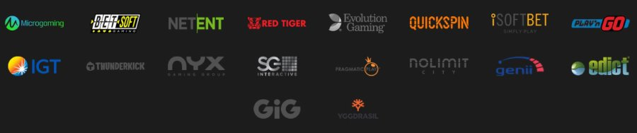 Shadowbet game providers