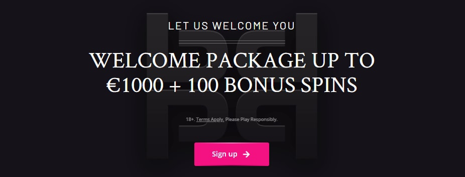 PlayGrand Casino welcome package