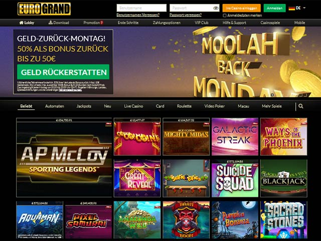 Eurogrand-Casino-Test