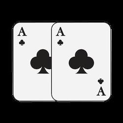 Online Blackjack: Splitting Pairs