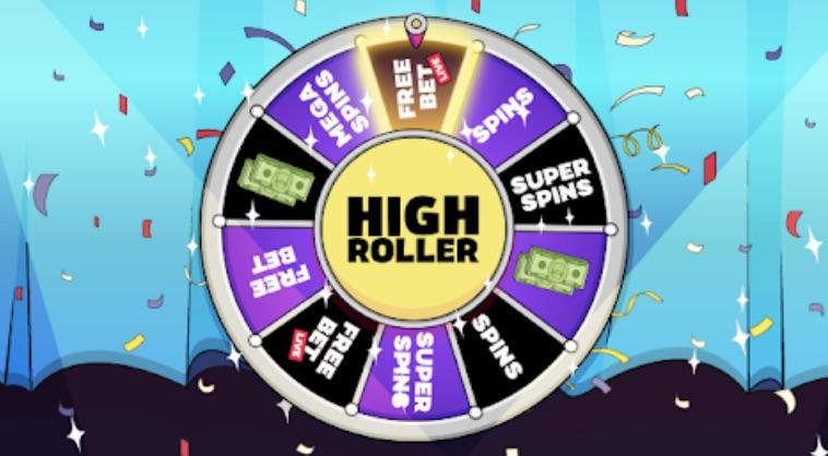Highroller Casino Glücksrad