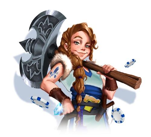 Pelaa main character design